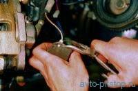 Замена передних тормозных колодок ВАЗ 2108, 2109, 21099