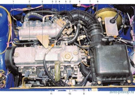 Электронная система управления двигателем ВАЗ-2111