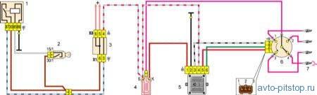 Система зажигания двигателей ВАЗ-2108, 21081, 21083