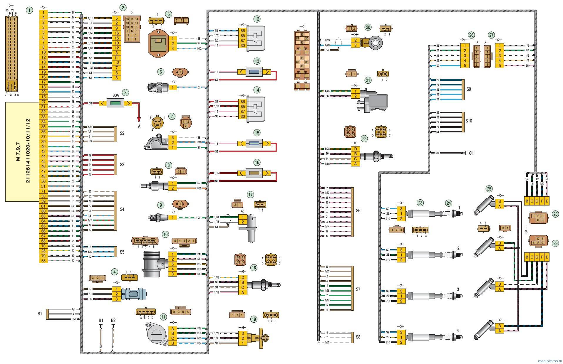 Схема воздушных потоков тгу 1000