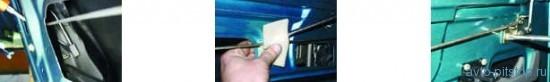 Замена замка задней двери ВАЗ 2110-2112
