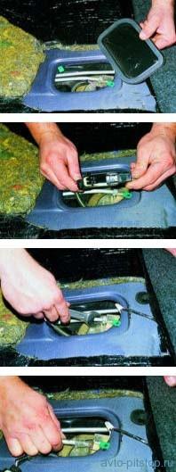 Снятие топливного бака автомобилей ВАЗ