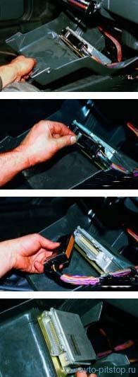 Снятие контроллера двигателя ВАЗ-2111