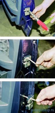 Замена наружного замка двери ВАЗ 2108-2115