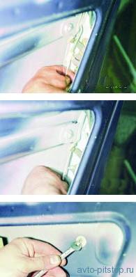 Снятие замка двери ВАЗ 2108–2115