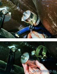 Замена топливного фильтра Ваз 2108, 2109, 21099
