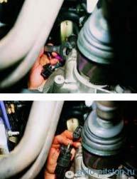 Снятие датчика скорости - двигатель ВАЗ-2111