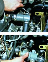 Снятие и проверка термостата двигателя ВАЗ-21083, ВАЗ-2111