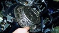 Замена ведомого диска и кожуха сцепления ВАЗ-2108-2115