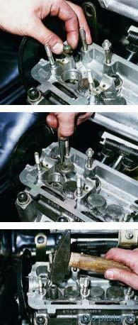 Замена маслоотражательных колпачков клапанов Ваз 2113, 2114, 2115