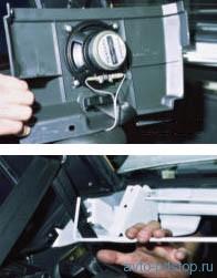 Снятие полки под задним стеклом ВАЗ 2108-2115