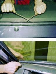 Замена ветрового стекла ВАЗ 2108-2115
