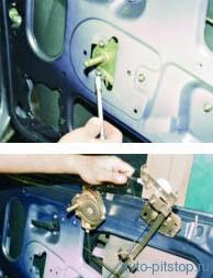 Снятие механизма стеклоподъемника ВАЗ 2108–2115