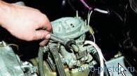 Снятие и проверка электромагнитного клапана карбюраторов ВАЗ 2108, 2109, 21099