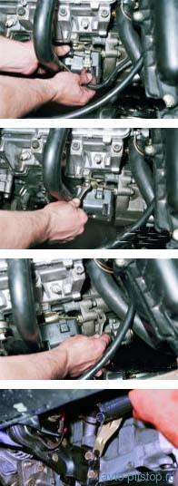 Снятие модуля зажигания двигателя ВАЗ-2111