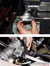 Снятие и разборка топливного насоса ВАЗ 2108, 2109, 21099