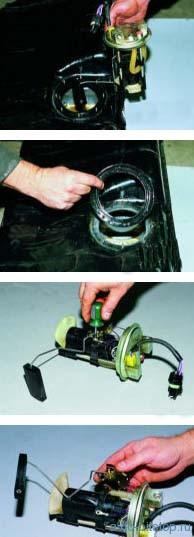 Снятие электробензонасоса с датчиком уровня топлива ВАЗ-2108-2115