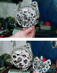 Снятие и разборка генератора 9402.3701