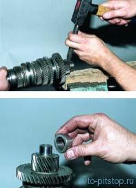 Разборка и сборка коробки передач ВАЗ-2108--2115