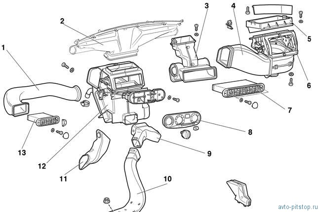 Схема панели приборов форд фокус 2 фото 163