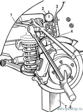 Передняя подвеска автомобиля Шевроле-Нива