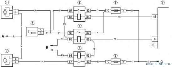 Электродвигатели вентилятора системы охлаждения двигателя Шевроле-Нива
