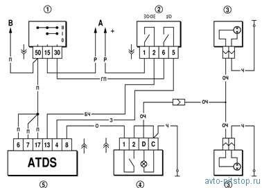 Как подключить автоусилитель к авто схема
