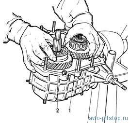 Разборка и сборка раздаточной коробки Шевроле-Нива