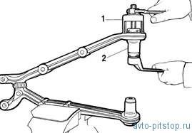 Снятие установка и снятие передней подвески Шевроле-Нива