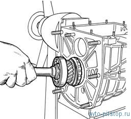 Снятие, установка, разборка коробки передач Шевроле-Нива