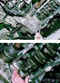 Демонтаж шатунно-поршневой группы (ШПГ) двигателя ВАЗ-2110, 2111, 2112 на автомобиле