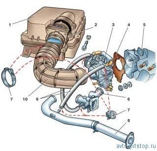 Снятие и установка двигателя ВАЗ 2108-2115