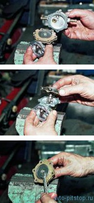 Снятие и разборка топливного насоса ВАЗ 21083, 2110 (карбюратор)