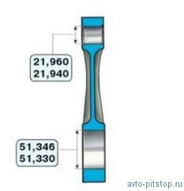 Основные размеры Шатунно-поршневой группы ВАЗ