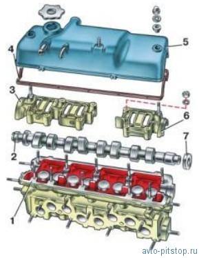 Разборка и сборка головки цилиндров ВАЗ
