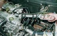 Снятие топливной рампы двигателя ВАЗ-2111