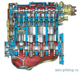 Двигатель мод. ВАЗ-2110