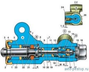 Регулятор давления задних тормозов ВАЗ