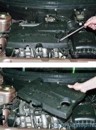 Замена свечей зажигания двигателя ВАЗ-2112