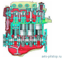 Двигатель мод. ВАЗ-2112