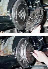 Замена ведомого и ведущего дисков сцепления ВАЗ