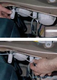 Снятие и разборка блок-фары, замена ламп ВАЗ 2110-2112