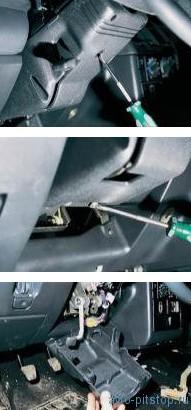 Снятие подрулевого переключателя ВАЗ 2110-2112