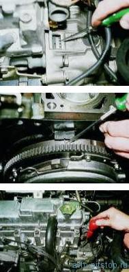 Замена ремня привода ГРМ на двигателях ВАЗ-2110, 2111