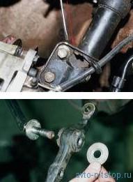 Снятие передней стойки и разборка ВАЗ 2108-2115