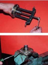 Замена подшипника передней ступицы ВАЗ 2108-2115