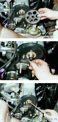 Замена сальника распределительного вала двигателей ВАЗ-2110, 2111