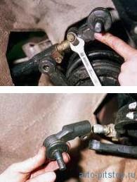 Снятие рулевой тяги и наконечников ВАЗ 2108-2115