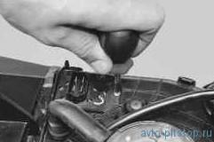 Замена дополнительного резистора отопителя ВАЗ-1270