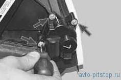Замена моторедуктора и датчика положения заслонки отопителя ВАЗ-2170